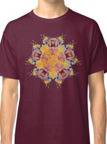Psychedelic jungle kaleidoscope ornament 21 Classic T-Shirt
