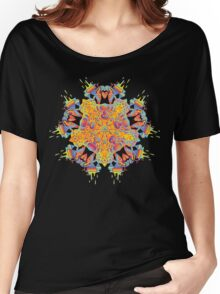 Psychedelic jungle kaleidoscope ornament 21 Women's Relaxed Fit T-Shirt