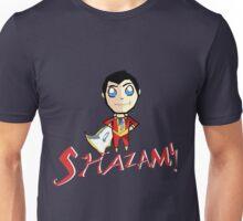 Shazam! With Text Unisex T-Shirt