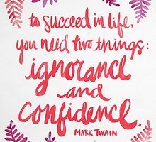 Ignorance & Confidence #3 by Cat Coquillette