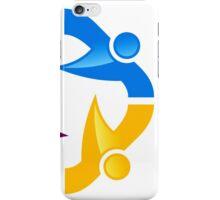 circle-people-workteam-logo iPhone Case/Skin