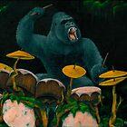 Gorilla Jungle Drums by Bart Castle