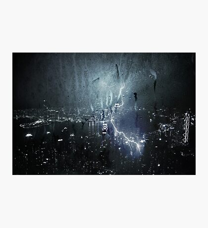 Electric Storm Photographic Print