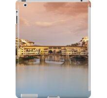 Ponte Vecchio at sunset, Florence, Italy iPad Case/Skin