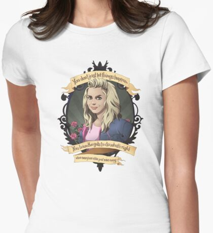 Rose - Doctor Who Womens Fitted T-Shirt