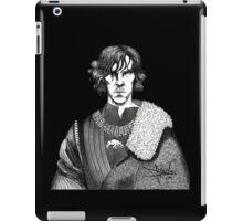 The Hollow Crown - Shakespeare's Richard III (b&w) iPad Case/Skin