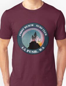 First Beach Surf Club Unisex T-Shirt