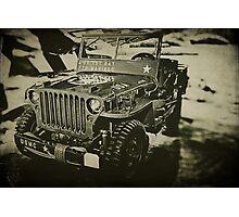 Jeep 3 Photographic Print