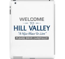 Welcome To Hill Valley iPad Case/Skin