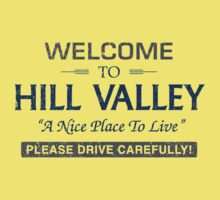 Welcome To Hill Valley Kids Tee
