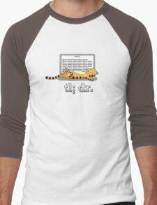 Too long; didn't read (Blue) Men's Baseball ¾ T-Shirt