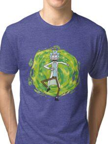 Rick through the portal Tri-blend T-Shirt