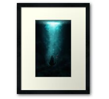 Toothless Lost Framed Print