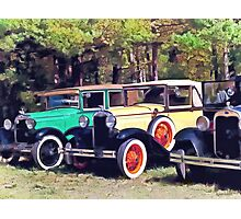 Colorful Model A's Photographic Print