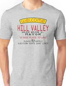 Welcome To Hill Valley (Future) Unisex T-Shirt