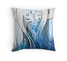Angels Carry The World Throw Pillow