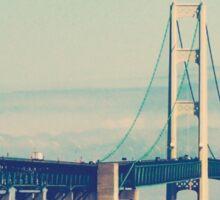 Mackinac Bridge Sticker