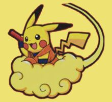 Pikachu is Flying Kids Clothes