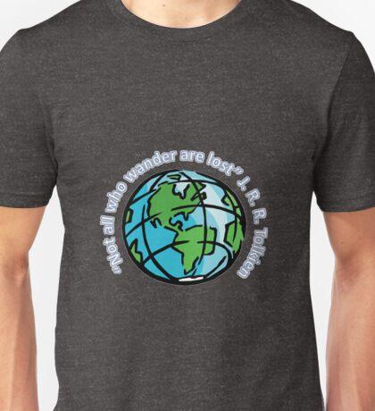 For the traveller Unisex T-Shirt