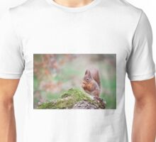 Red Squirrel Unisex T-Shirt