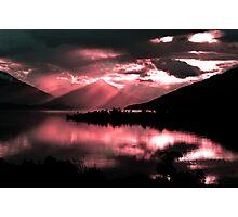 Te Anau. South Island, New Zealand  Photographic Print