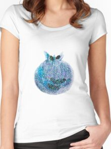Sparkly Blueberry Women's Fitted Scoop T-Shirt