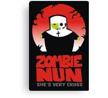 zombie nun Canvas Print