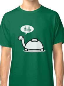 Mine turtle stops by to say hello Classic T-Shirt