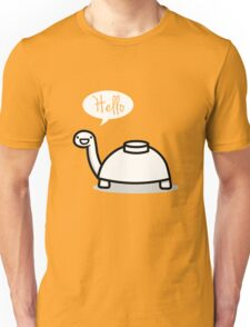 Mine turtle stops by to say hello Unisex T-Shirt