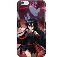 Red-Eyed Killer (Akame iPhone Case) iPhone Case/Skin