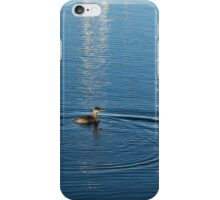 Ripples and Circles – Red-Necked Grebe iPhone Case/Skin