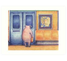 The Commuters Art Print