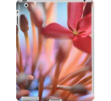 Tropical Flowers Macro iPad Case/Skin