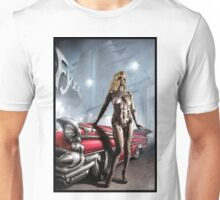 Retro Robot Painting 001 Unisex T-Shirt