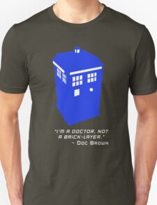 Sci Fi Misquote- Doctor T-Shirt