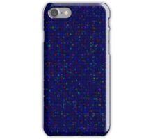 Antique Texture Sapphire Blue iPhone Case/Skin