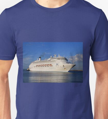 Pacific Jewel cruise ship Unisex T-Shirt