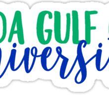 Florida Gulf Coast University Sticker