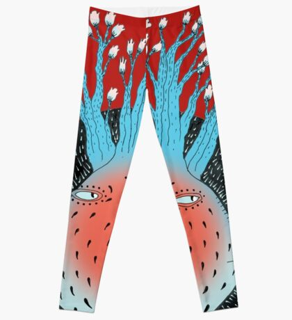 Cosmic Epiphany Heart Leggings