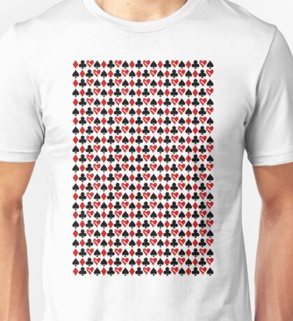 Is Love a Game? (pattern) Unisex T-Shirt