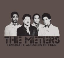 The Meters - Original Gangsters Of Funk Kids Clothes