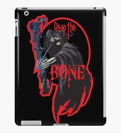 Reap the bone  - red iPad Case/Skin