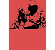 new Banksy art on t-shirt Photographic Print