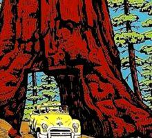 Yosemite National Park California Vintage Travel Decal Sticker
