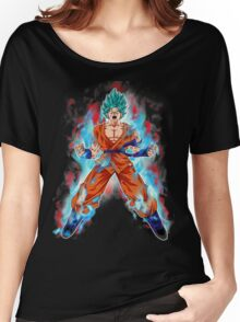 goku super saiyan Women's Relaxed Fit T-Shirt