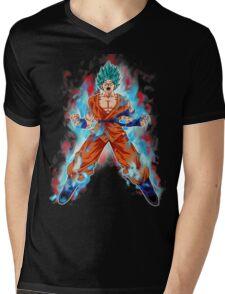 goku super saiyan Mens V-Neck T-Shirt