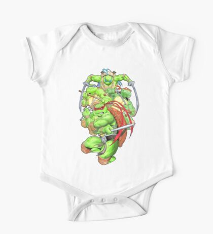 Turtle Brothers TMNT One Piece - Short Sleeve