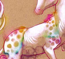 Joyful Unicorn Sticker