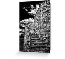THE STAIRCASE... Greeting Card