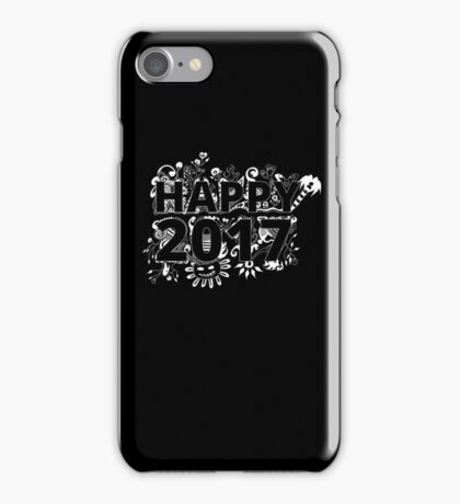 Happy New Year - 2017 iPhone Case/Skin